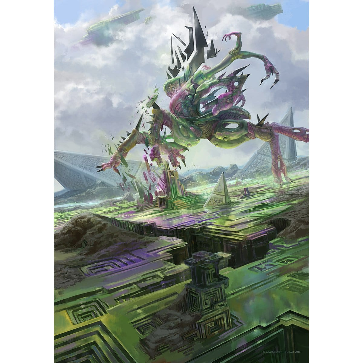 Reality Smasher Print - Print - Original Magic Art - Accessories for Magic the Gathering and other card games