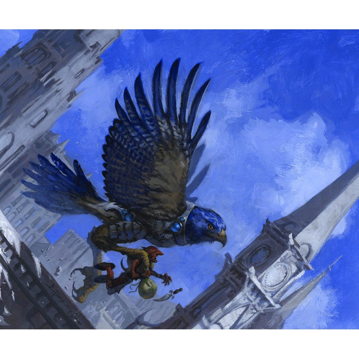 Skymark Roc Print - Print - Original Magic Art - Accessories for Magic the Gathering and other card games