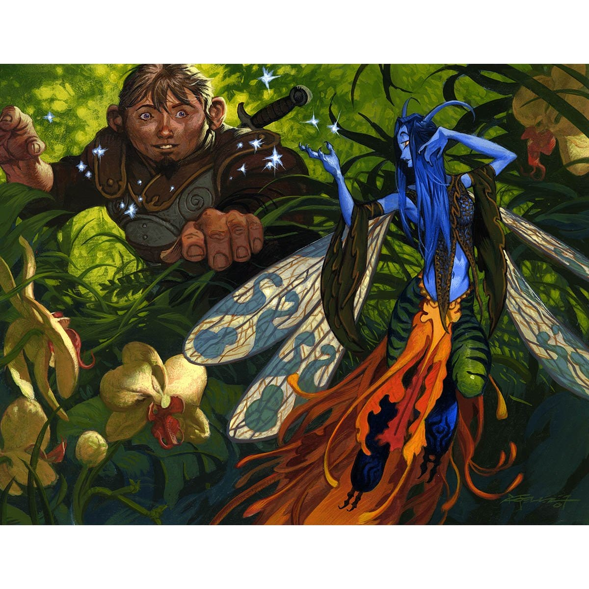Sower of Temptation Print - Print - Original Magic Art - Accessories for Magic the Gathering and other card games