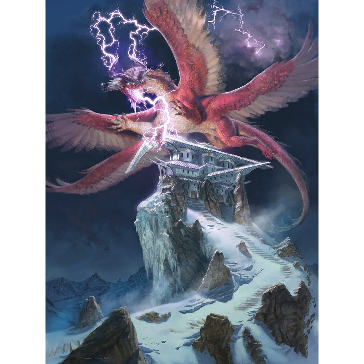 Thunderbreak Regent Print - Print - Original Magic Art - Accessories for Magic the Gathering and other card games