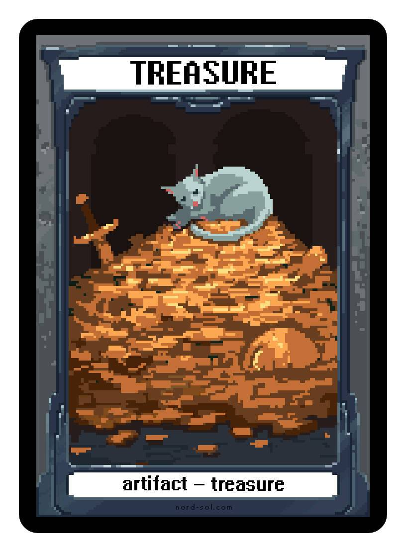Treasure Token by Irina Nordsol