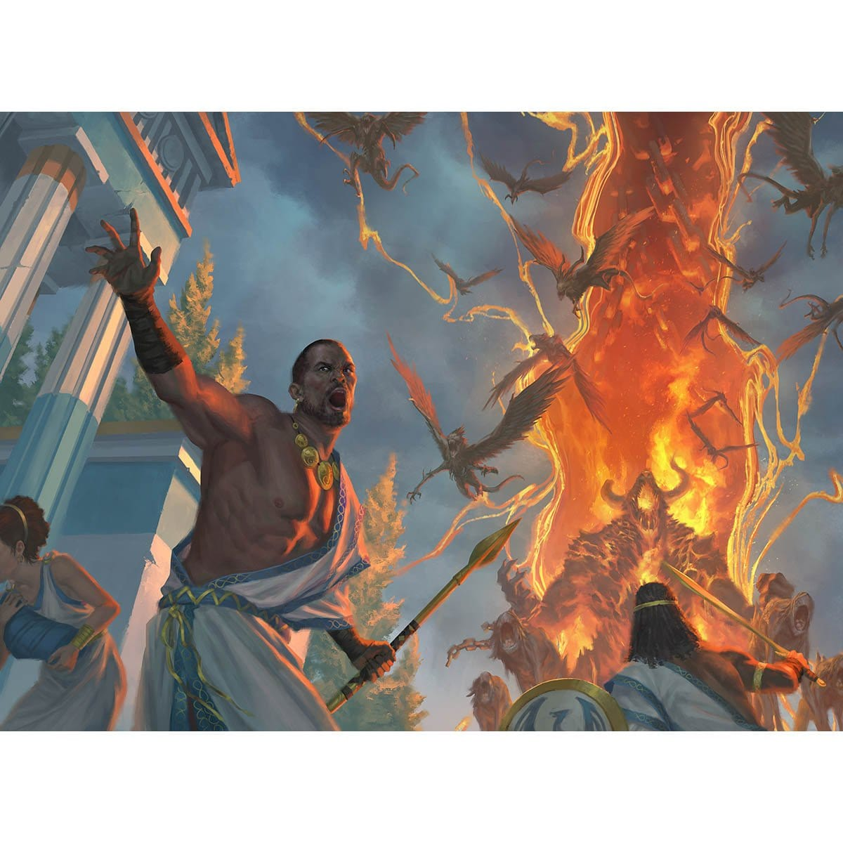 Underworld Breach Print - Print - Original Magic Art - Accessories for Magic the Gathering and other card games