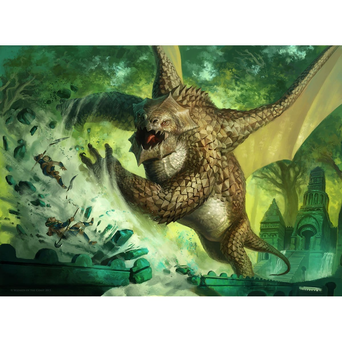 Wardscale Dragon Print