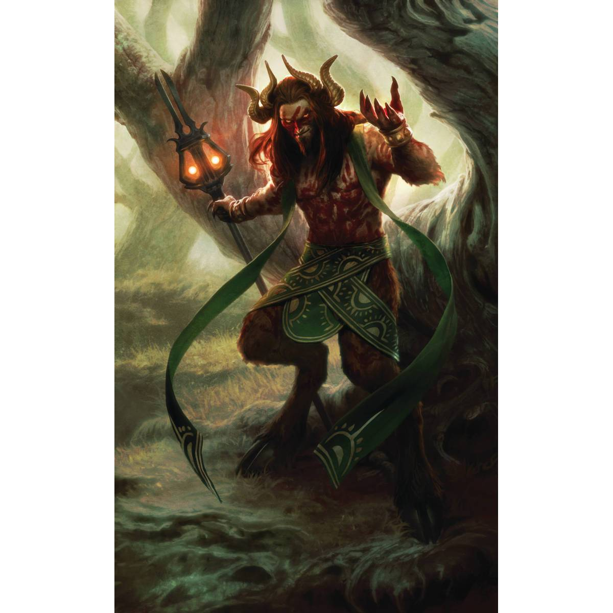 Xenagos, the Reveler Print - Print - Original Magic Art - Accessories for Magic the Gathering and other card games