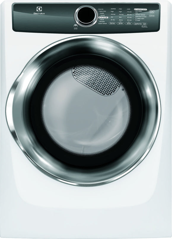 Electrolux Front Load Perfect Steam™ Gas Dryer with Instant Refresh and 8 cycles - 8.0 Cu. Ft.