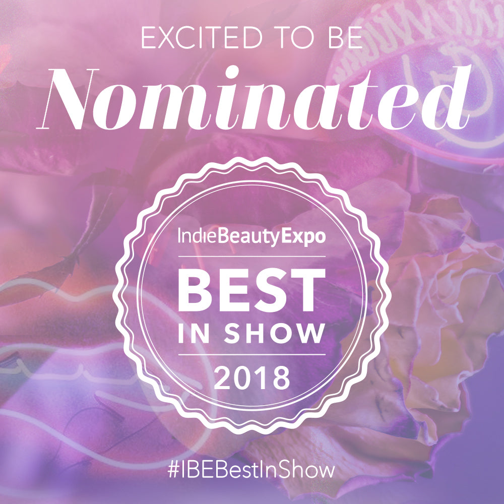 Pistachio Body Butter Nominated for IBE Best in Show 2018