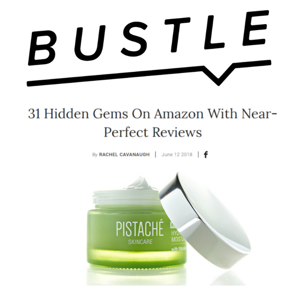 Pistachio Oil Hydrating Moisturizer featured on Bustle
