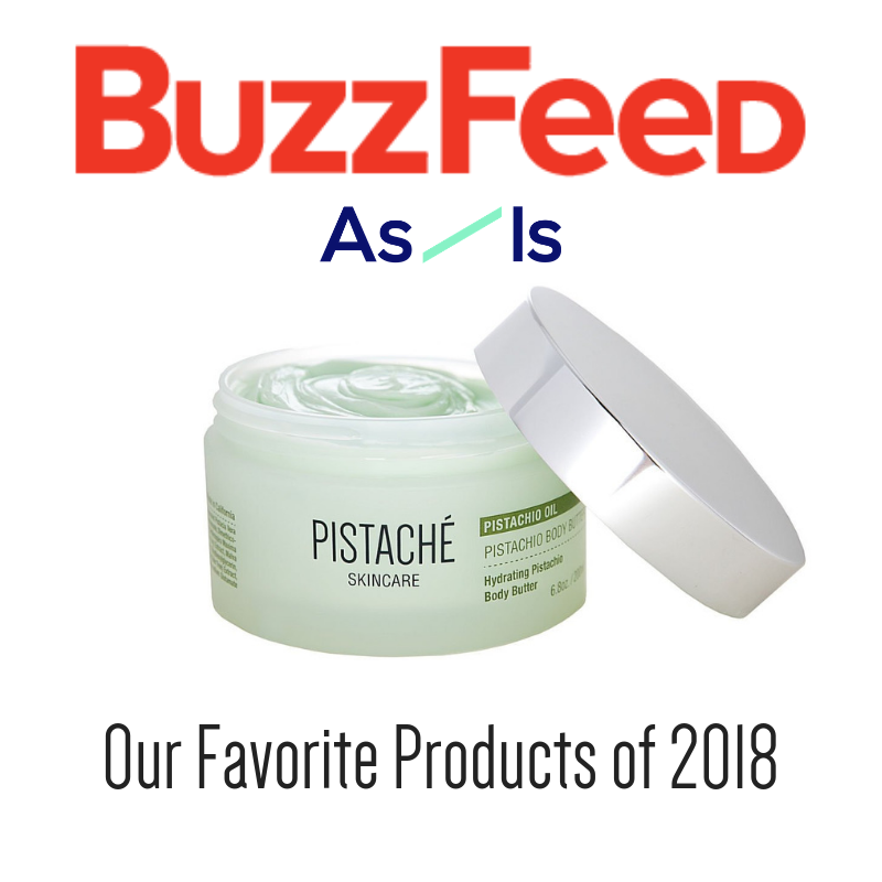 Pistache Body Butter in Buzzfeed 2018 Beauty Favorites