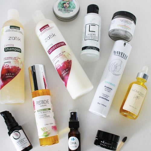 Lilibuzz's Beauty Routine using our Pistachio & Rose Divine Beauty Oil
