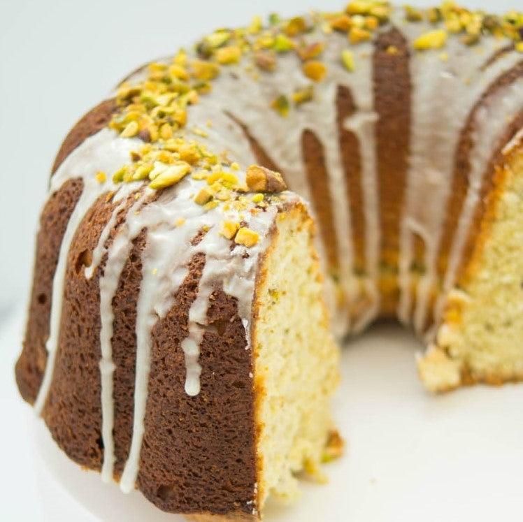 Pistachio Inspired Bundt Cake Recipe
