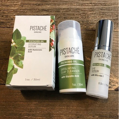 Pistaché Skincare Incorporates Tasty Pistachios in Their Products