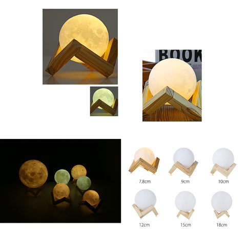 3D MOON LAMP - Dipee Deals