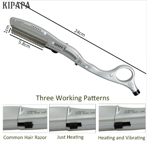 Hot Vibrating Razor Split Ends - 70% Off