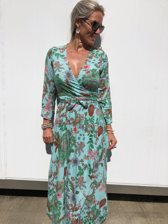 Wrap Dress - Sierra Print