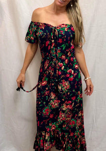 Capri Dress - Desert Rose Print