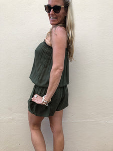 Tilly Playsuit - Olive