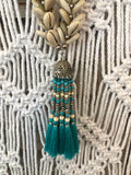 Cowrie Shell & Tassel Necklace