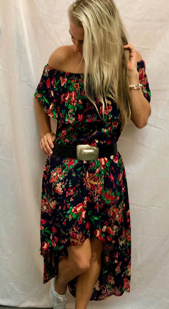 Daniella Dress - Desert Rose Print