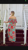 Daniella Dress - Reef Print