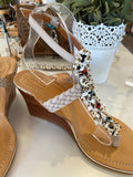 Beaded Wedges