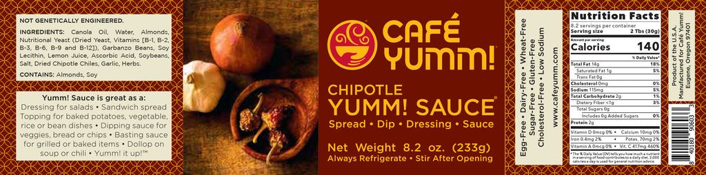 Yumm! Sauce® - Chipotle, six jars