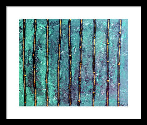 Between The Lines - Framed Print
