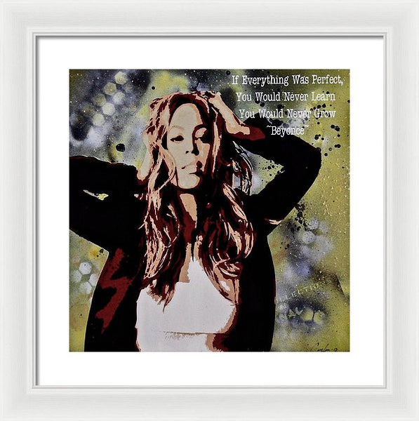 Bey You - Framed Print