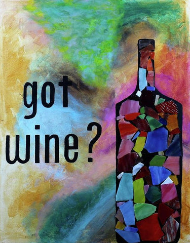 Got Wine - Art Print