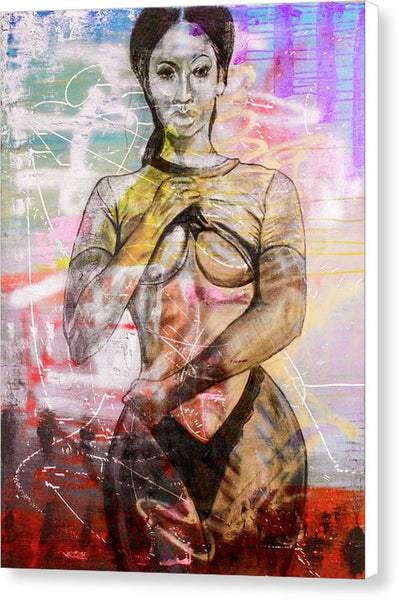 Urban Burlesque - Canvas Print
