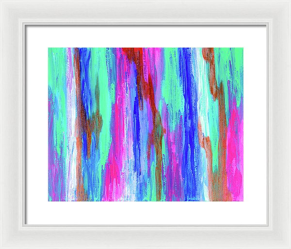 Vibrations - Framed Print