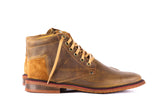 Marabu Mid West Fargo Brown - Mens Shoes Bestias Shoes Australia. Handcrafted leather shoes. Sustainable and fair trade