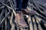 Dingo Mid Brown - Mens Shoes Bestias Shoes Australia. Handcrafted leather shoes. Sustainable and fair trade