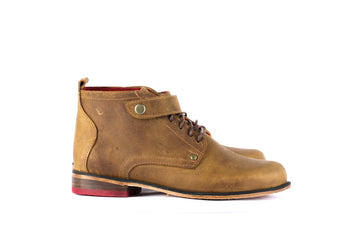 Dodo Mid Brown - Mens Shoes Bestias Shoes Australia. Handcrafted leather shoes. Sustainable and fair trade