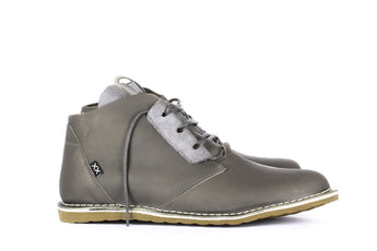 Dingo Mid Grey - Mens Shoes Bestias Shoes Australia. Handcrafted leather shoes. Sustainable and fair trade
