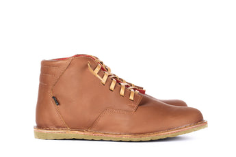 Gerbo Mid Brown - Mens Shoes Bestias Shoes Australia. Handcrafted leather shoes. Sustainable and fair trade