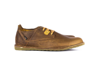 Pudu Low Brown - Mens Shoes Bestias Shoes Australia. Handcrafted leather shoes. Sustainable and fair trade
