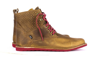 Traro High Brown - Mens Shoes Bestias Shoes Australia. Handcrafted leather shoes. Sustainable and fair trade