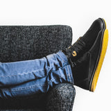 Pudu Mid Black - Mens Shoes Bestias Shoes Australia. Handcrafted leather shoes. Sustainable and fair trade