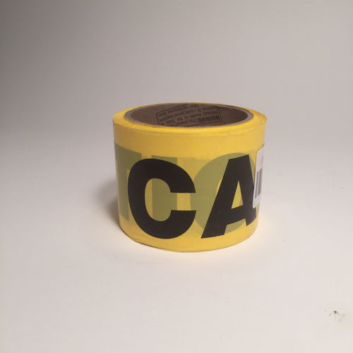 Barricade Tape - Caution - Yellow