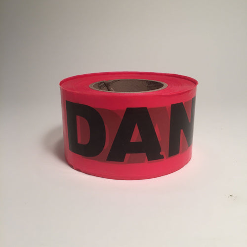 Barricade Tape - Danger - Red