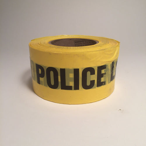 Barricade Tape - Police Line - Yellow
