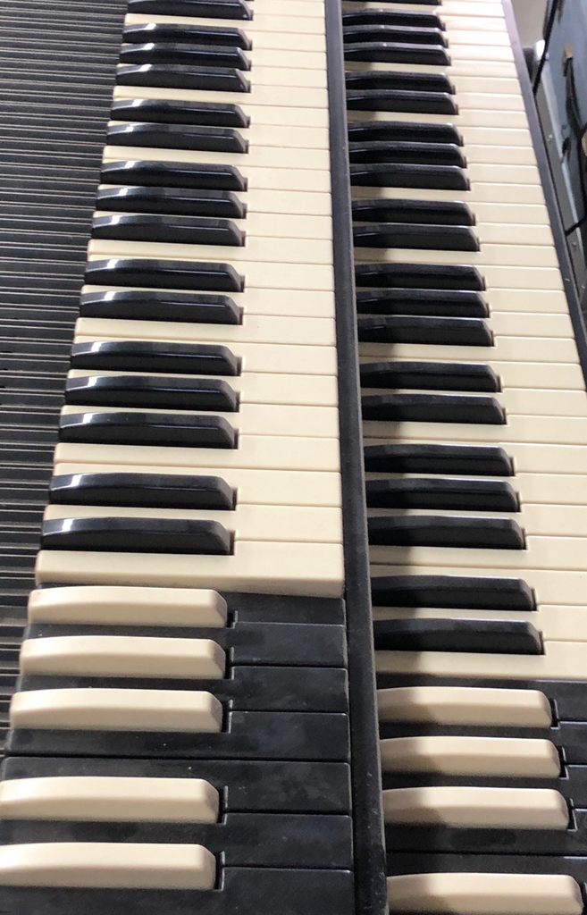 Hammond B3 Replacement keys and other Organs vintage keys
