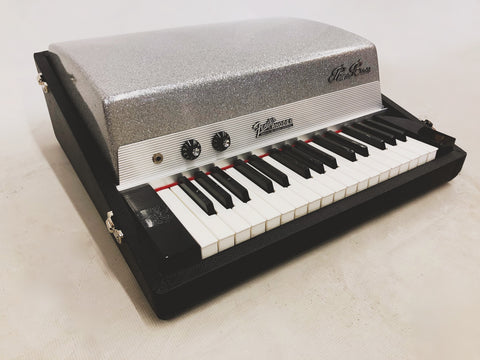 Fender Rhodes Piano Bass 1973 Silver Top