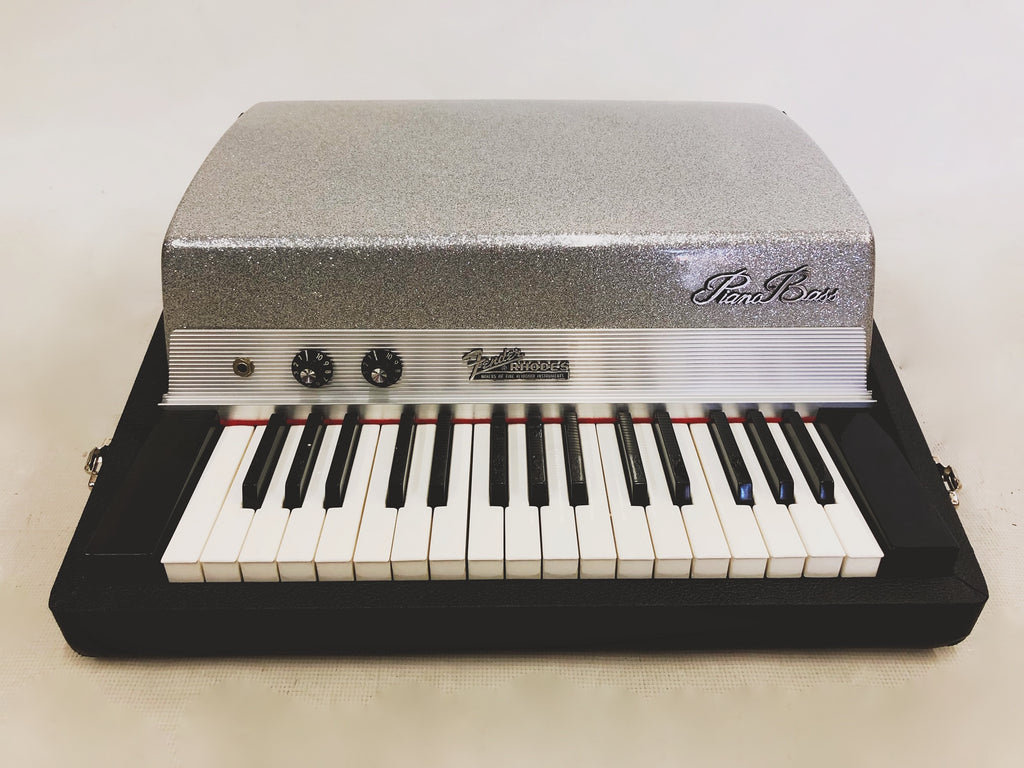 Fender Rhodes Piano Bass 1971 Silver Top