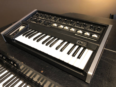 Moog Micromoog model 2090 monophonic analog synthesizer