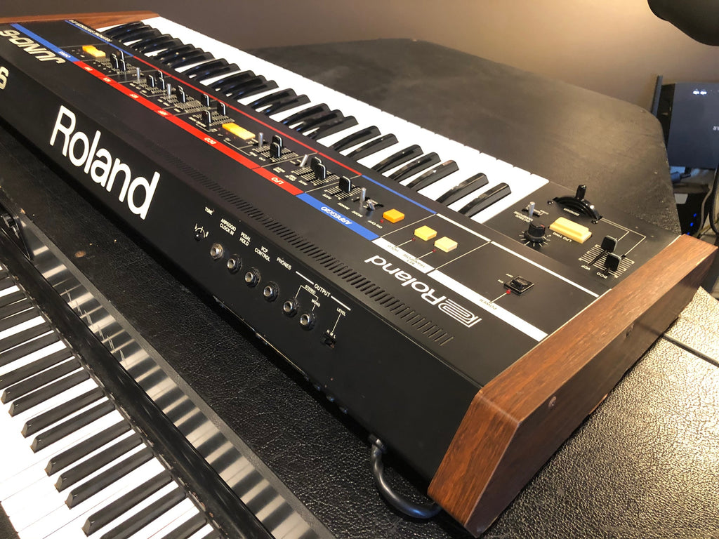 Roland Juno 6 Polyphonic analog synthesizer