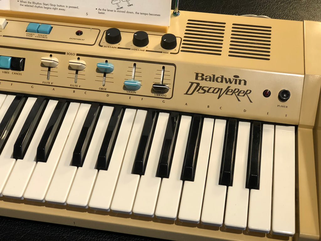 Baldwin Discoverer DS-50  Analog synthesizer and drum machine