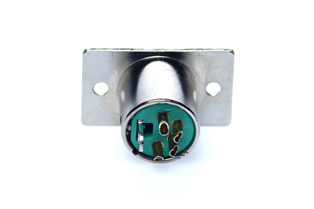 Rhodes 4 Pre Amp Male Chassie Mount Connector