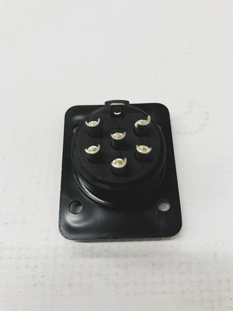 6 Pin Heavy Duty locking male Hammond/Leslie Replacement Connector