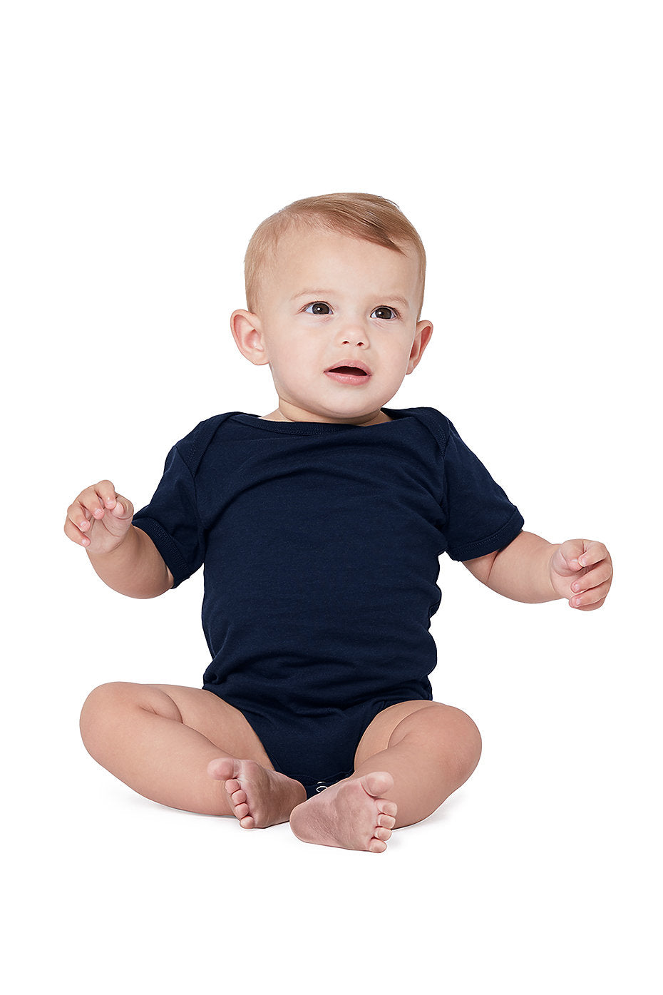 100B BABY JERSEY SHORT SLEEVE ONE PIECE
